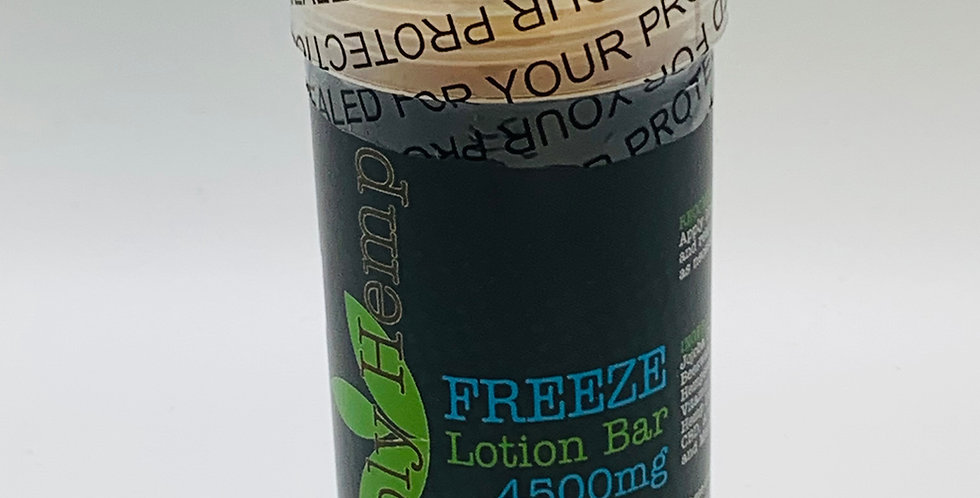 4500mg Lotion Freeze Bar