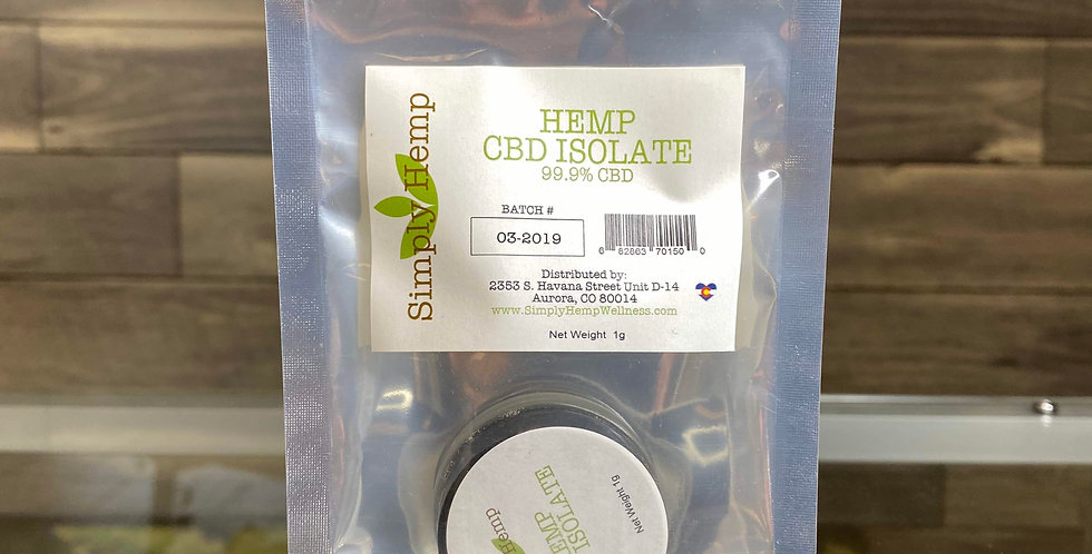 THC-Free Isolate