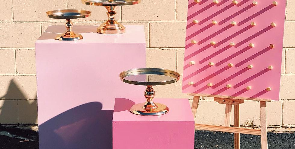 Medium Pink Donut Wall