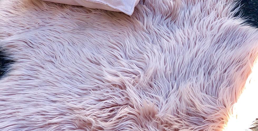 Dusty Pink Fur