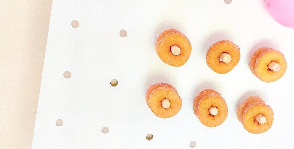 Medium White Donut Wall