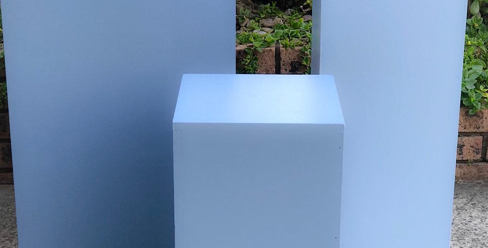 Blue Plinth