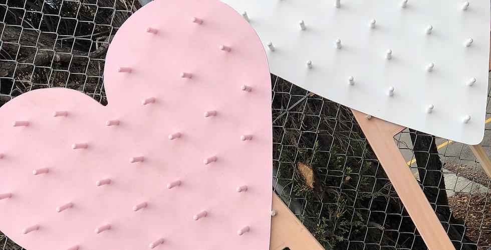 Heart Shaped Donut Wall