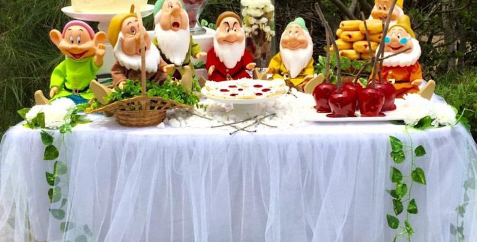 Set of 7 Dwarves for Snow White Theme