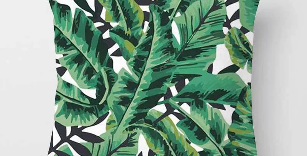 Tropical Leave Pillow