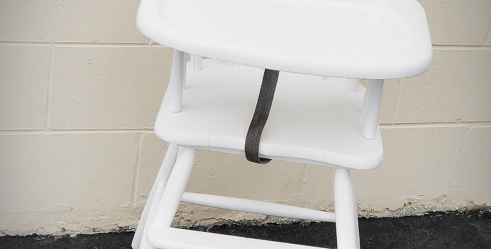 White Vintage Highchair