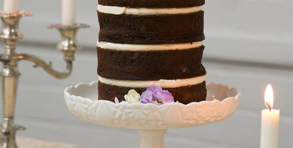 Lipped Rosanna Cake Stand