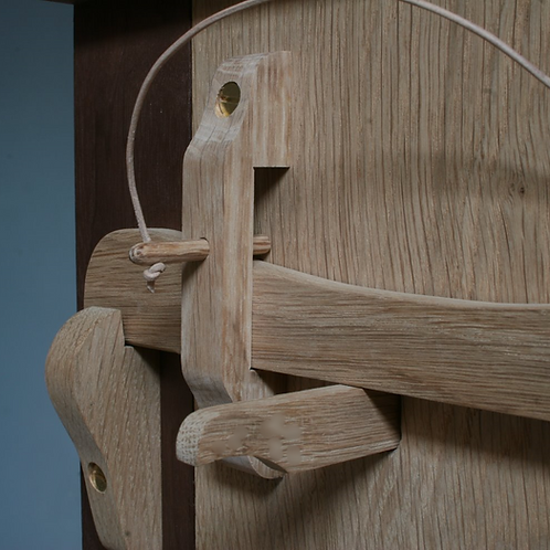 Oak Spindle Lock