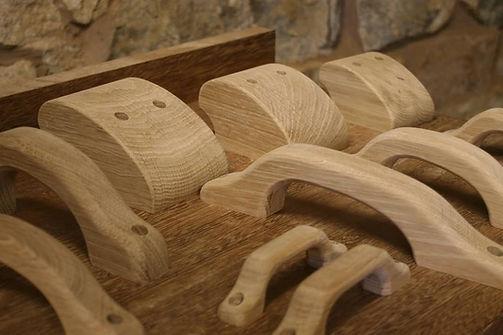 Oak handles
