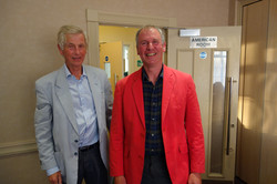 2015 05 14 Hamment receives Red Blazer from Michael Archer (Hall)