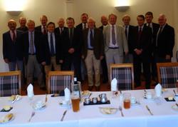 2014 10 01 v Christs Dinner at Mid Herts
