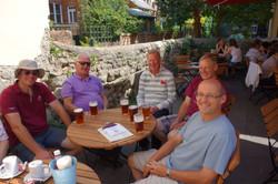 2014 07 27 Oxford Tour pre match drinks
