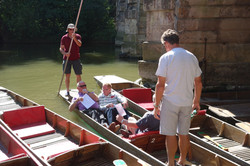 2014 07 27 Oxford Tour Punting