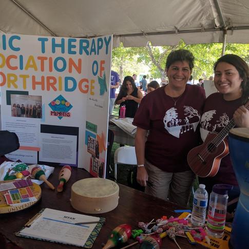 MTAN President Debbie Sipos & Estefany Barrios