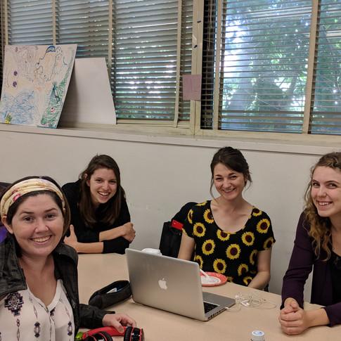 Stevie, Bethany, Heidi, Maureen