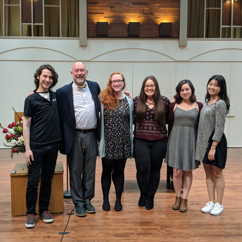 Music Dept. Honors Ceremony
