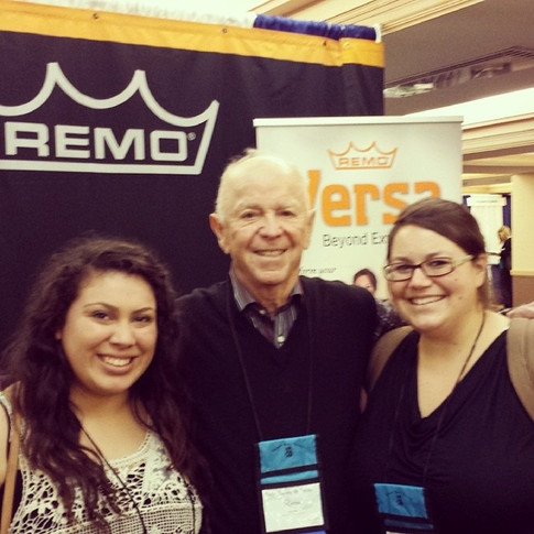 MT Students meeting Remo Belli!