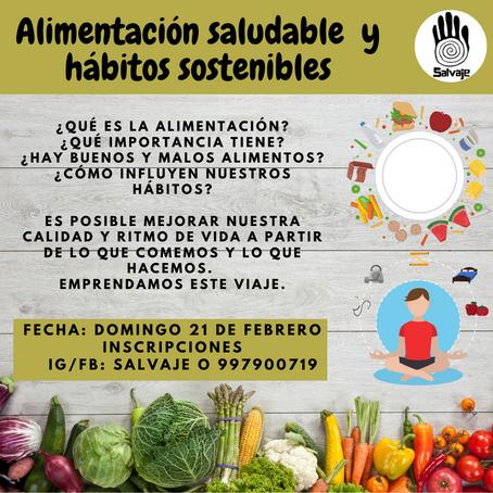 Alimentación saludable y hábitos sostenibles