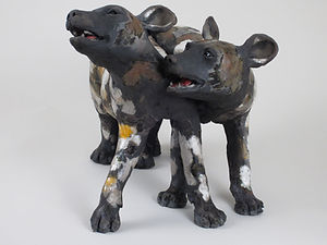 African painted dogs