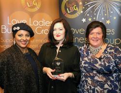 Vivienne Kane - Business 2 Business Impact Award Winner