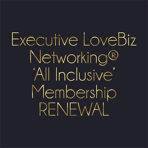 #LoveBiz Networking®  Executive Membership Renewal