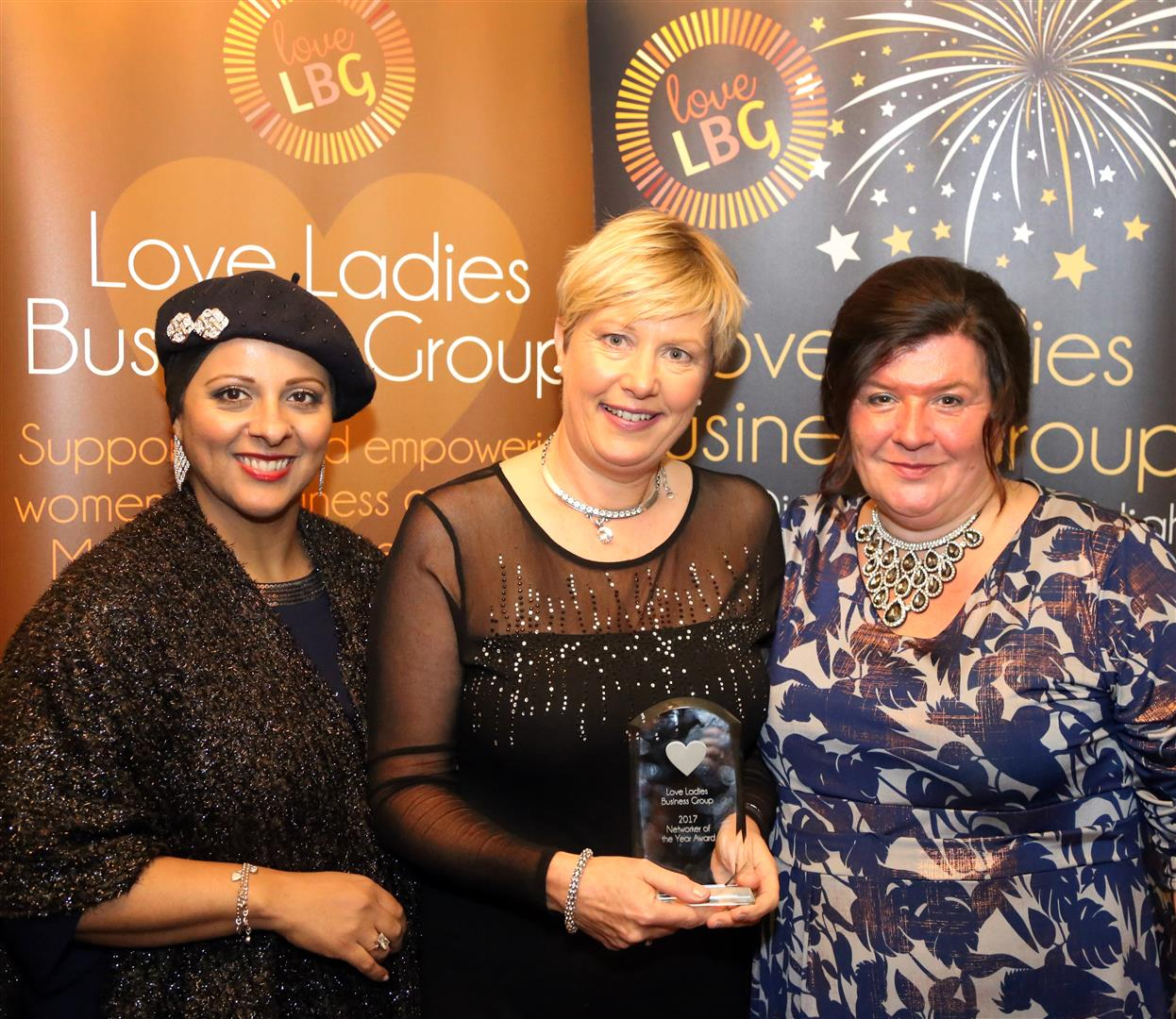 Sue Godfrey - Networker of the Year Award Winner