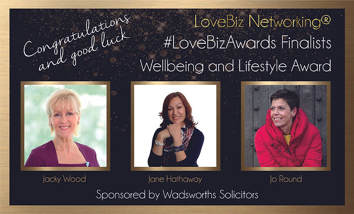 Wellbeing and Lifestyle Award Finalists.
