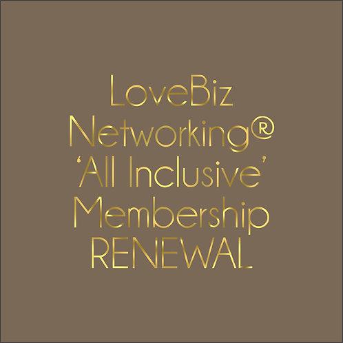#LoveBiz All Inclusive Membership Renewal