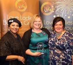 Clare Hodson Walker - Ambassador of the Year Award Winner