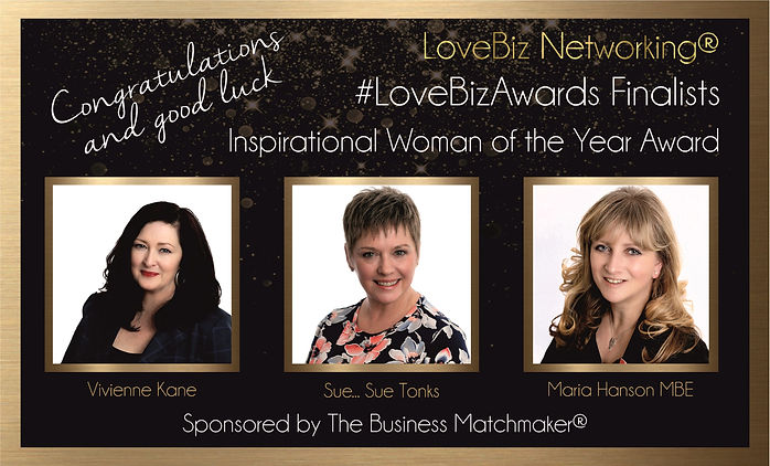 Inspirational Business Women of the Year