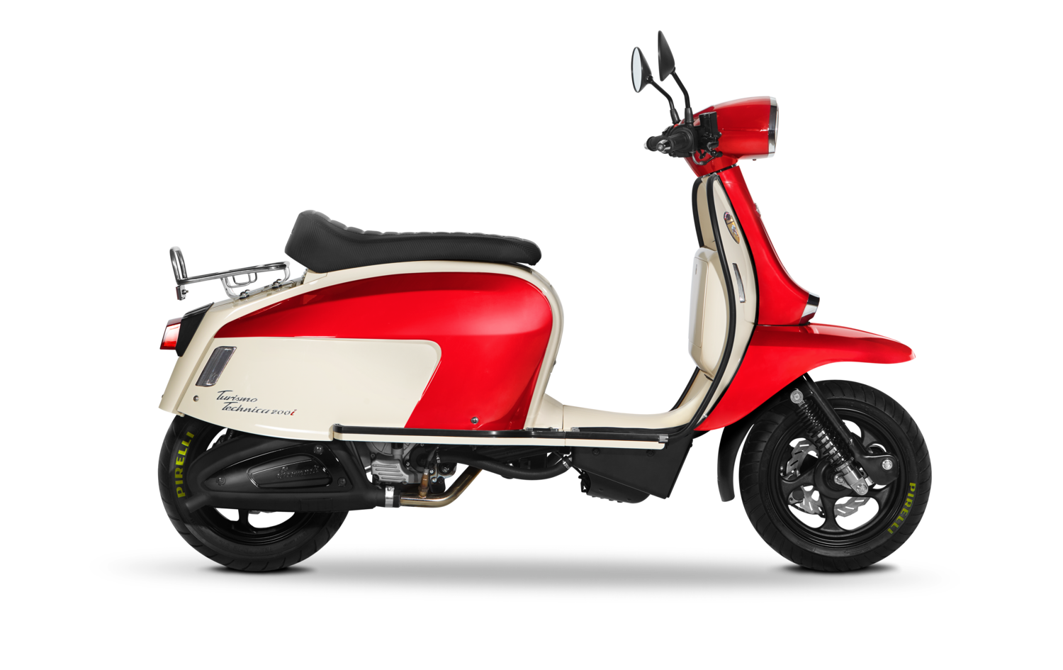 Scomadi TT200i Red/White