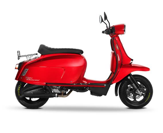 Scomadi TT200i Red Fire