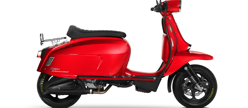 Scomadi TT200i Red Fire