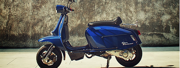 Scomadi TT200i Oxford Blue