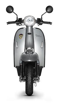 Scomadi TT200 Silver Scooter