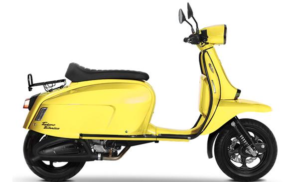 Scomadi TT125i Yellow