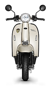 Scomadi TT200 Warm White Scooter