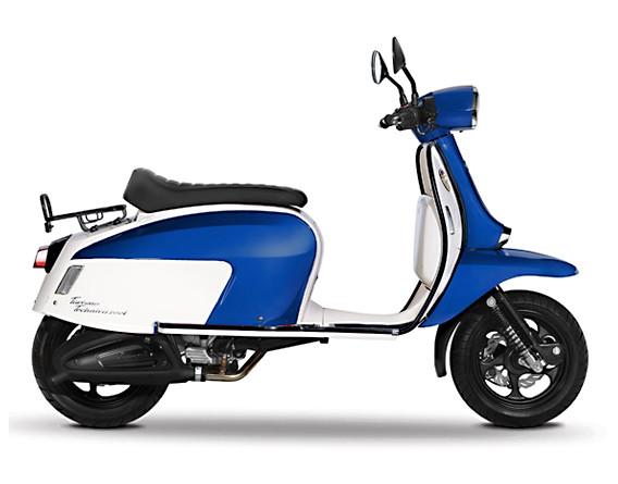 Scomadi TT125i Blue-White