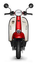 Scomadi TT200 Red-White Scooter