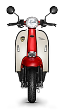 Scomadi TT200 Red-White Scooter