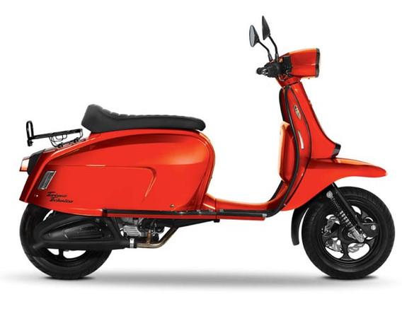 Scomadi TT125 Pearl Orange