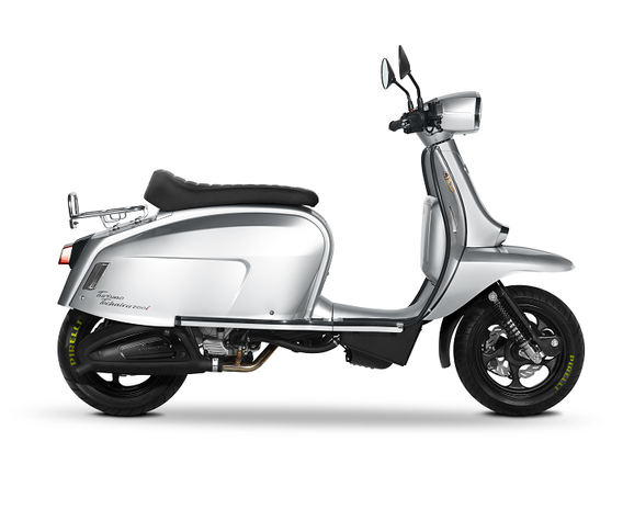 Scomadi TT125i Silver