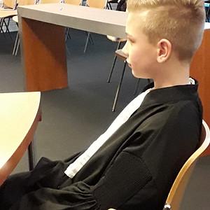 Excursie naar de rechtbank