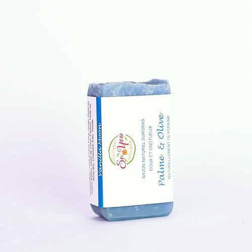 Savon olive, coco, ricin, palme RSPO - Senteur Vanilla Moon