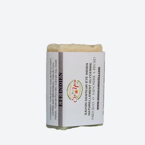 Savon olive, coco, ricin, palme RSPO - Senteur Eté Indien
