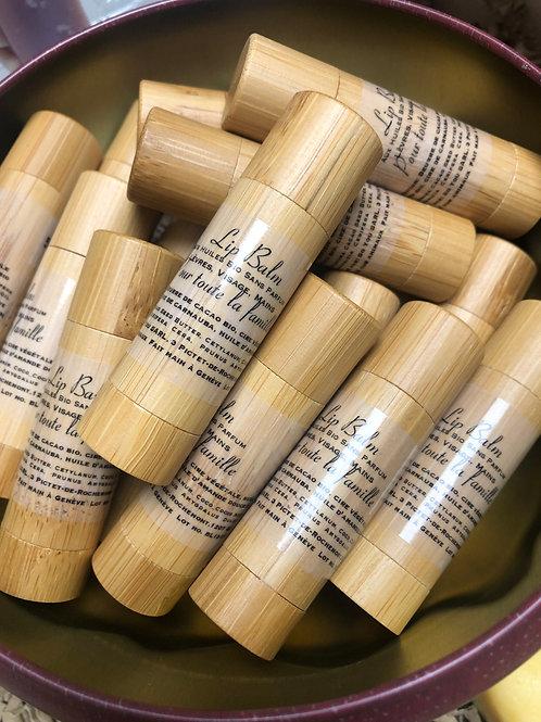 Stick lèvres naturel - cacao bio, coco bio, amande douce bio sans parfum