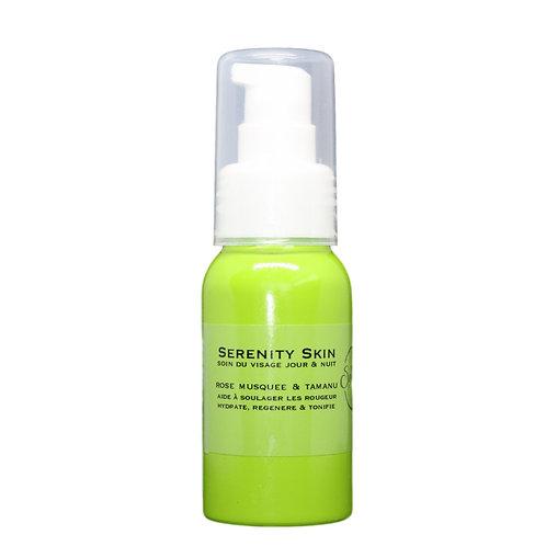 Crème visage peaux atopiques et rougeurs jour et nuit -  rose musquée calophylle