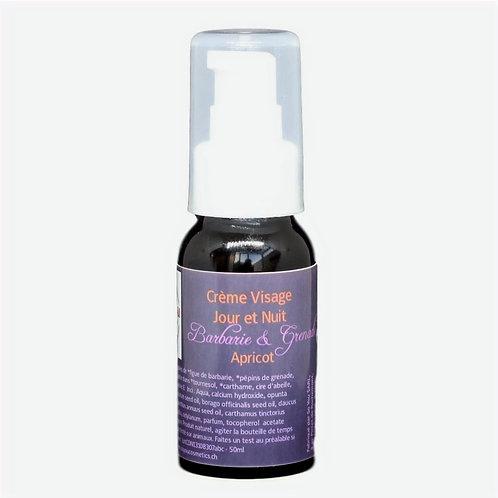 Crème visage peaux matures et sèches jour et nuit - Barbarie Grenade