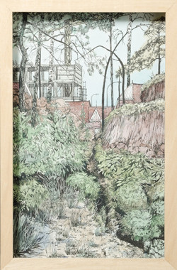 isabella-kuijers_exclusive-site_2015_watercolour-and-pen-on-paper_380x250mm_framed-703x1024-703x1024