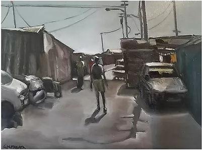 Gerald Tabata, Steve Biko Road, a street